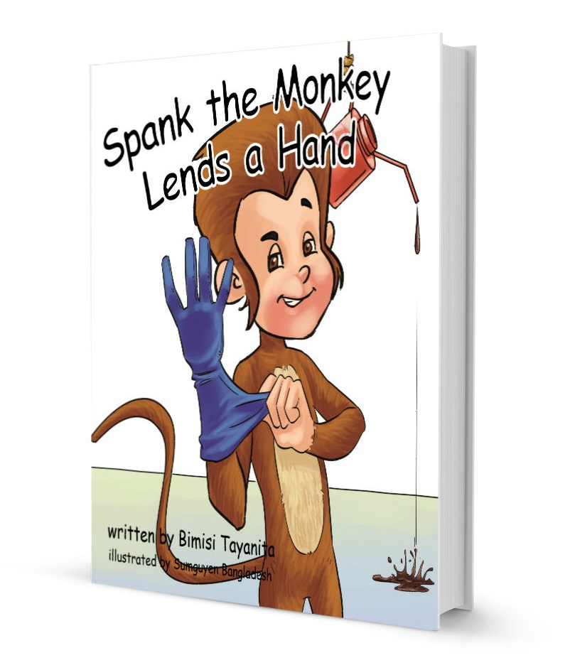 the before Spank monkey